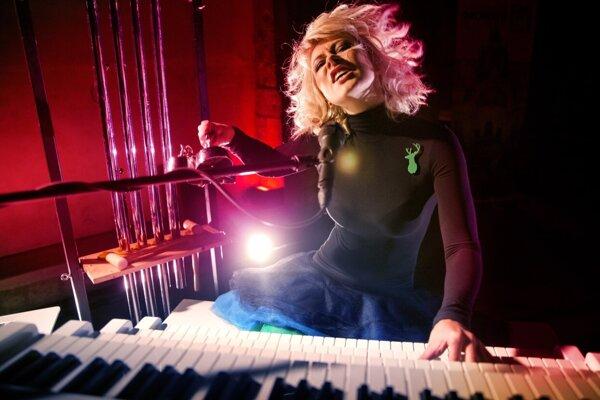 Katta - hudobníčka by si mala zahrať aj na organ v Kostole sv. Kataríny v Kremnici.