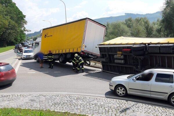 Dopravná nehoda v Námestove.