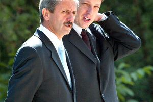 Stanislav Gross a Mikuláš Dzurinda (2004)