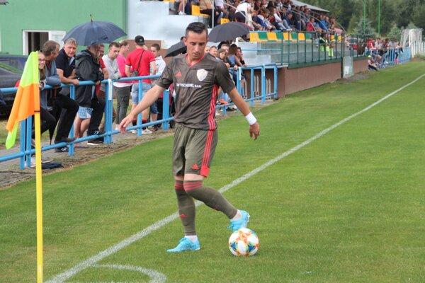 Patrik Jagnešák pomohol Zubrohlave ďalšími dvomi gólmi. Vedie aj tabuľku strelcov.