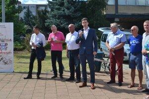 Vicežupan Ondrej Lunter tvrdí, že v prípade projektu zdieľaných bicyklov je Lučenec pre BBSK silným a spoľahlivým partnerom.