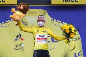 Alexander Kristoff vyhral 1. etapu na Tour de France 2020 a získal žltý dres.