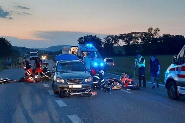 Tragická nehoda medzi Vyšným a Nižným Orlíkom.