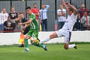 Dva góly Tatrana strelil Samuel Gladiš (vľavo).