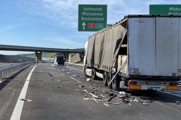 Nehoda pri Budimíre.