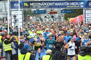Štart maratónu bude rozdelený do siedmich sektorov.