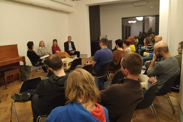 Z diskusie v Malom Berlíne.