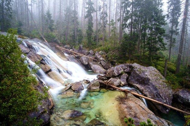 Vodopády na Studenom potoku