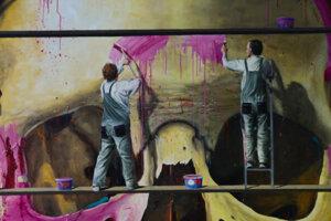 Samostatná výstava maliara Roberta Bielika je jeho prvou prezentáciou v Reprezentačných sálach Nitrianskej galérie.