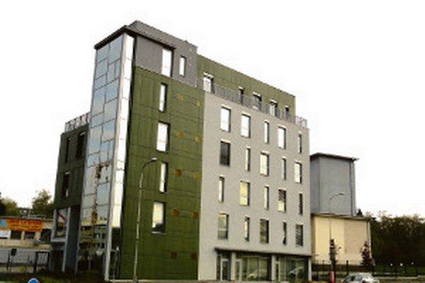 Budova na Rázusovej ulici.
