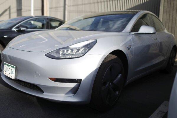 Model 3 značky Tesla v americkom Littletone.