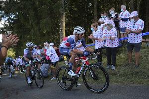 Peter Sagan počas 12. etapy.