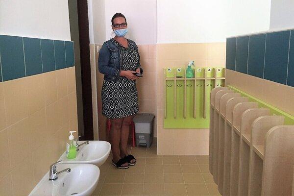 V materskej škole vynovili sociálne zariadenia.