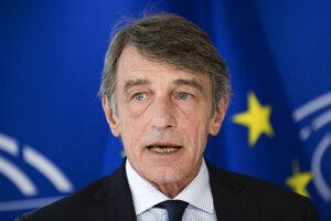 Predseda Európskeho parlamentu David Sassoli.