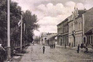 Rákócziho okružná, dnes Moyzesova ulica v Košiciach.