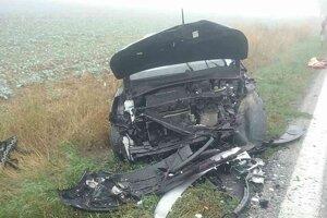 Pri obci Kolta sa stala vážna nehoda.