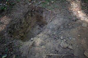 Pôda bola presušená aj pol metra hlboko.