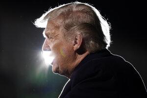 Americký prezident počas predvolebnej debaty.