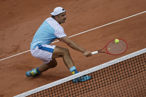 Andrej Martin v 2. kole Roland Garros 2020.