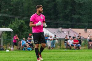 Lukáš Urminský, brankár FK Tatran Turzovka.