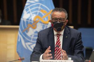 Generálny tajomník Svetovej zdravotníckej organizácie Tedros Adhanom Ghebreyesus.