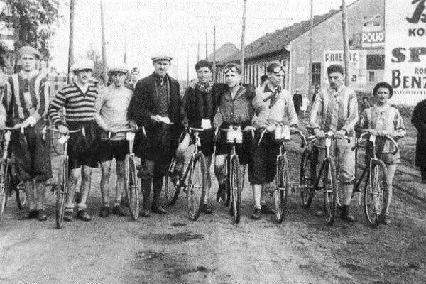 Košickí cyklisti.