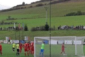Spišské Podhradie v derby remizovalo s Krompachmi.