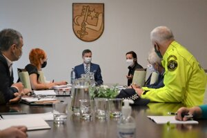 Štáb rozhodol obmedziť verejnosti pohyb na mestskom úrade.