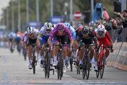 Peter Sagan a Arnaud Démare na Giro d'Italia 2020.