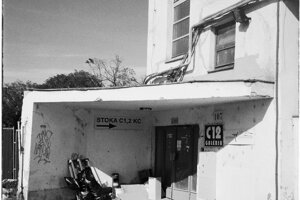 Vchod do legendárnej Stoky - vyprataného divadla.