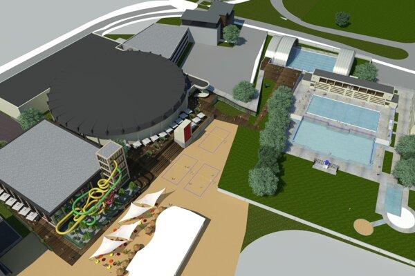 Plán mesta je spojiť dve susediace športoviská do jedného komplexu.
