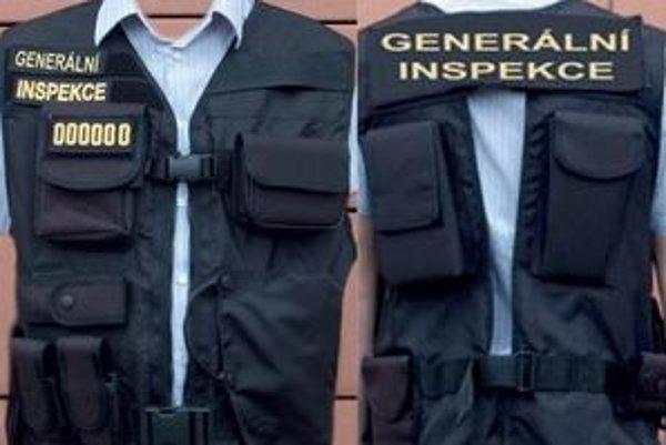 Vzor viest používaných Generálnou inšpekciou bezpečnostných zborov v Česku.