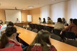 Inštruktáž študentov FZO.