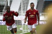 Futbal PSG - Manchester United, Liga majstrov (ilustračná fotografia).
