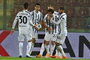 Dynamo Kyjev - Juventus Turín, Liga majstrov (ilustračná fotografia).