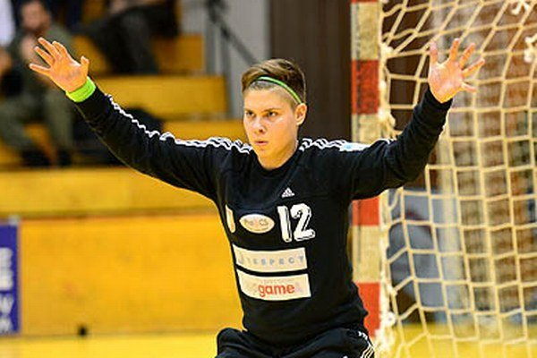 Brankárka Zuzana Haládiková v Písku podržala tím.
