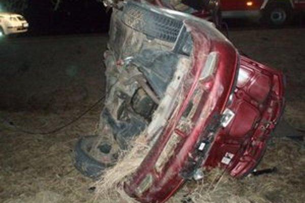 Tragická dopravná nehoda sa stala v sobotu 10. marca na ceste II. triedy pred obcou Slovenské Pravno. 18-ročný vodič jazdiaci na vozidle Daewoo Nexia v smere od Prievidze na Martin v priamom úseku cesty dostal s vozidlom šmyk, zišiel mimo vozovku po prave