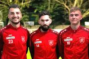 Jaroslav Machovec, Juraj Fuska a Jozef Sombat sú oporami piatoligového tímu SC Kittsee.