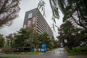 Budova internátu vysokoškolského mesta Ľ. Štúra.