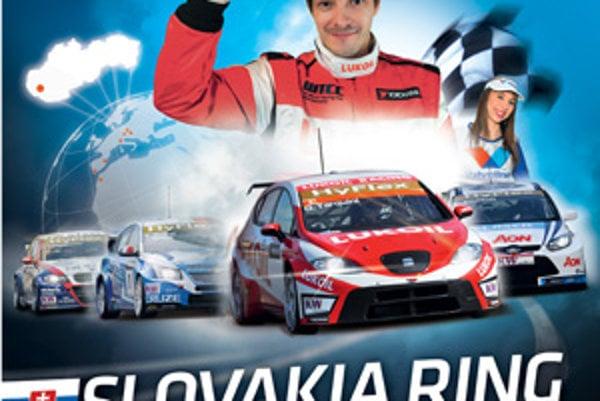 Takto vyzerá oficiálny plagát WTCC pre Slovensko.