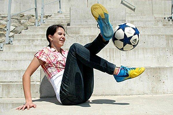Na halovom sviatku v Nitre sa predvedie špičková freestylerka Lucia Kevická, majsterka sveta z roku 2012.