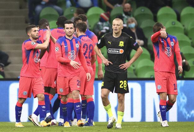 Hráči Krasnodaru boli po zápase sklamaní.