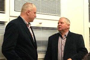 Zaujímavé debaty aj o budúcnosti turnaja viedli Jozef Belický s Tiborom Rábekom.
