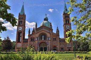 Kostol vo Viedni, ktorí napadli výtržníci.
