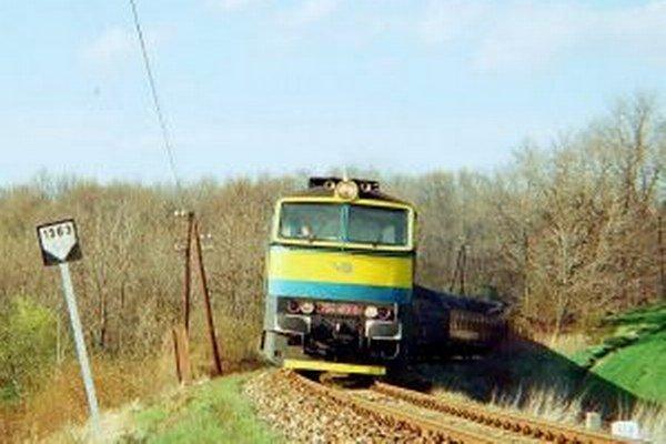 Rýchlik Tekov v roku 1996.