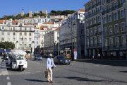 Centrum Lisabonu 11. októbra.