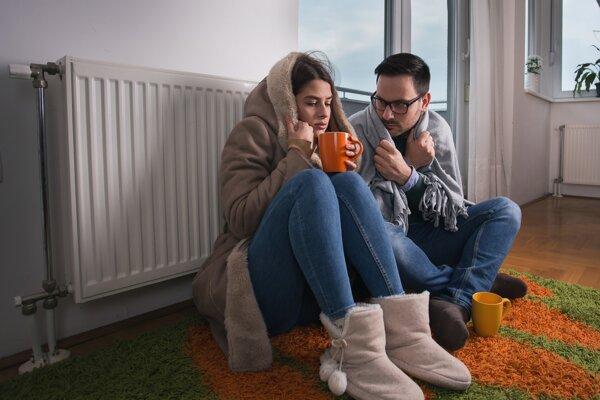 Vykurovacia sezóna trvá na Slovensku v priemere pol roka.
