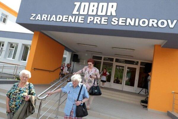 Zariadenie pre seniorov Zobor.