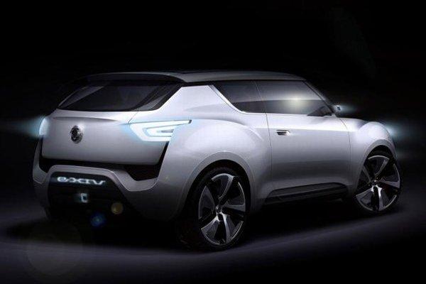 "Nový elektrický koncept automobilky Ssang Yong dostal názov ""eXciting user-Interface Vehicle""."