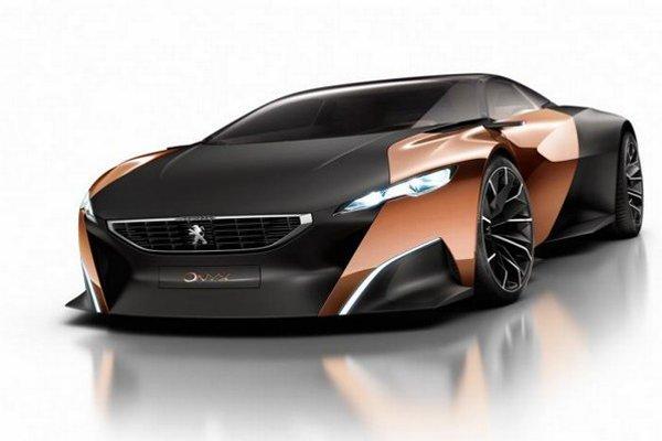 Peugeot okrem hybridného konceptu Onyx, ukázal facelift modelu RCZ